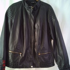 PU Leather Jacket that looks like real leather